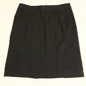 NWT Size 14 WHBM Black and White Skirt